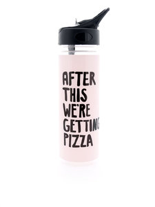 Ban.do Work It Out Water Bottle After This We're Getting Pizza