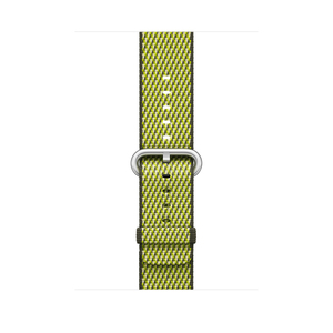 Apple Dark Olive Check Woven Nylon for Apple Watch 42mm