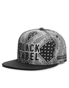 Cayler & Sons Black Label Bumrush Black/White Cap