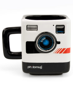 Mustard Photomug Retro Camera Mug