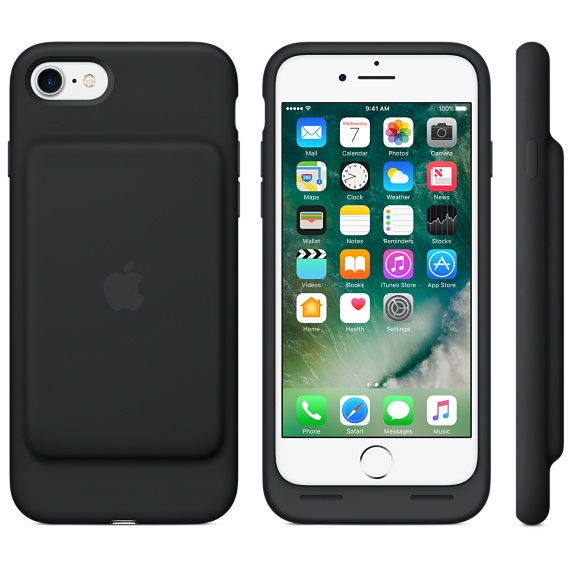 low priced d5060 b22f6 Apple Smart Battery Case Black iPhone 8/7 | iPhone Accessories | Apple  Accessories | Apple | Electronics & Accessories | Virgin Megastore