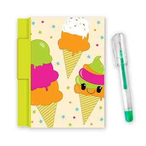 Scentco Sketch & Sniff Note Pads Oh So Yummy Rainbow Sherbet