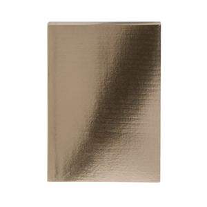 Colourblock Metallic Gold A5 Notebook