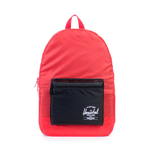 Herschel Packable Daypack Red/Black Backpack