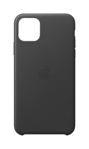 Apple Leather Case Black for iPhone 11 Pro Max