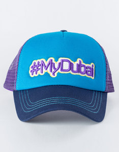 B180 #Mydubai5 Purple/Blue Unisex Cap