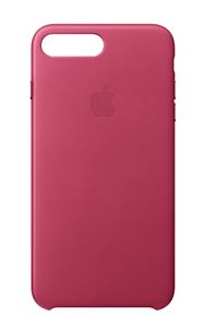 Apple Leather Case Pink Fuchsia for iPhone 8 Plus/7 Plus