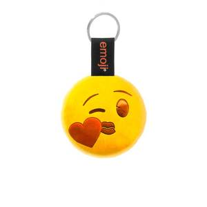 Emoji Kiss Official Yellow Keychain