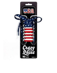 Suck UK USA Crazy Laces