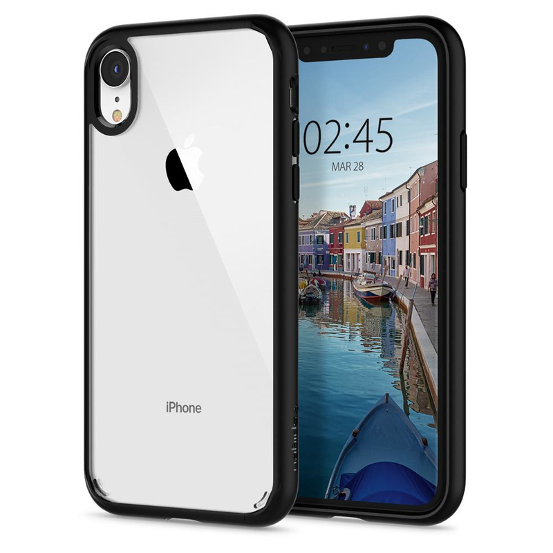 online store 8beaf 79448 Spigen Ultra Hybrid Matte Black Case for iPhone XR