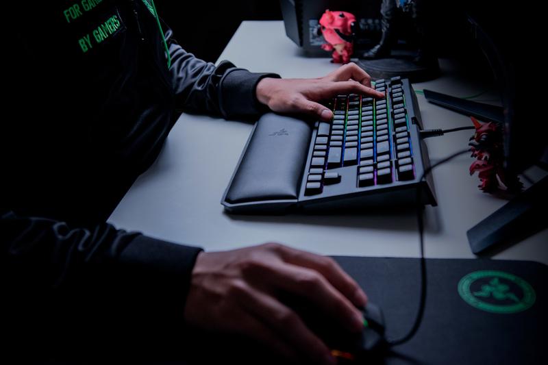 Razer Blackwidow Tournament Edition Chroma V2 Keyboard Green Switch