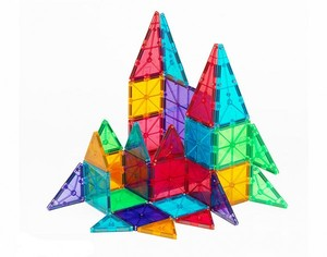 Magna-Tiles Clear Colors 32 Piece Building Set