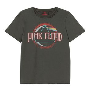 Amplified Pink Floyd on the Run Kid's T-Shirt Charcoal