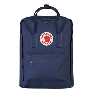 Fjallraven Kanken Backpack Royal Blue Pinstripe Pattern