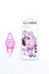 Globber Safety Flash Light Neon Pink for Scooter