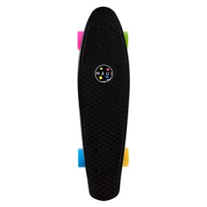 Maui and Sons Cookie Skateboard Black