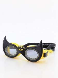 Zoggs Junior Character Batman Goggle Yellow/Black