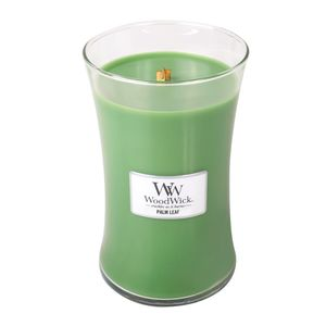 Woodwick Large Jar Palm Leaf Green Candle