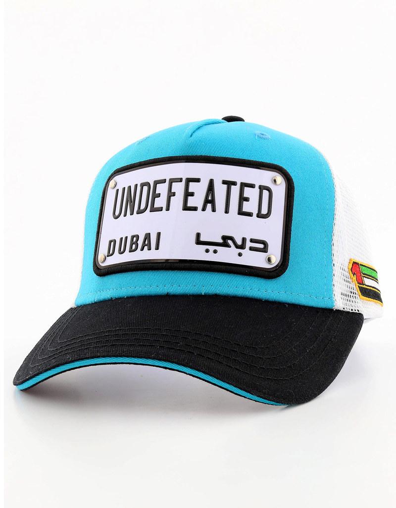 db474714d8b Raqam Dubai Words Collection Undefeated Plate Model 4 Cap