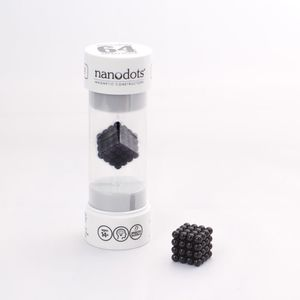 Nanodots 64 Black Magnetic Dots