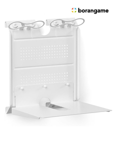 Borangame Gameside Game Console Horizontal Wall Mount White