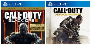 Call Of Duty Black Ops Iii Gold Edition + Call Of Duty Advanced Warfare