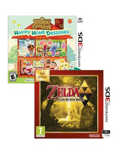 Animal Crossing Ltd. Edition +Loz A Link Between Worlds [Bundle]