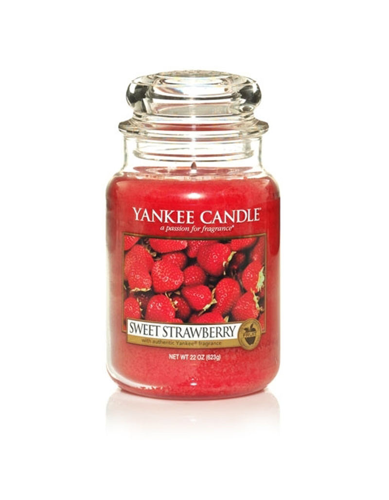 Yankee Candle Classic Large Jar Sweet Strawberry