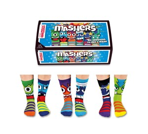 United Oddsocks The Mashers Boys Socks [Set of 3 Pairs]