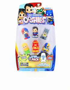 Ooshies DC Comics: Series 2 Pencil Toppers [Pack of 7]
