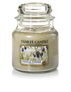 Yankee Candle Classic Jar Medium Olive & Thyme