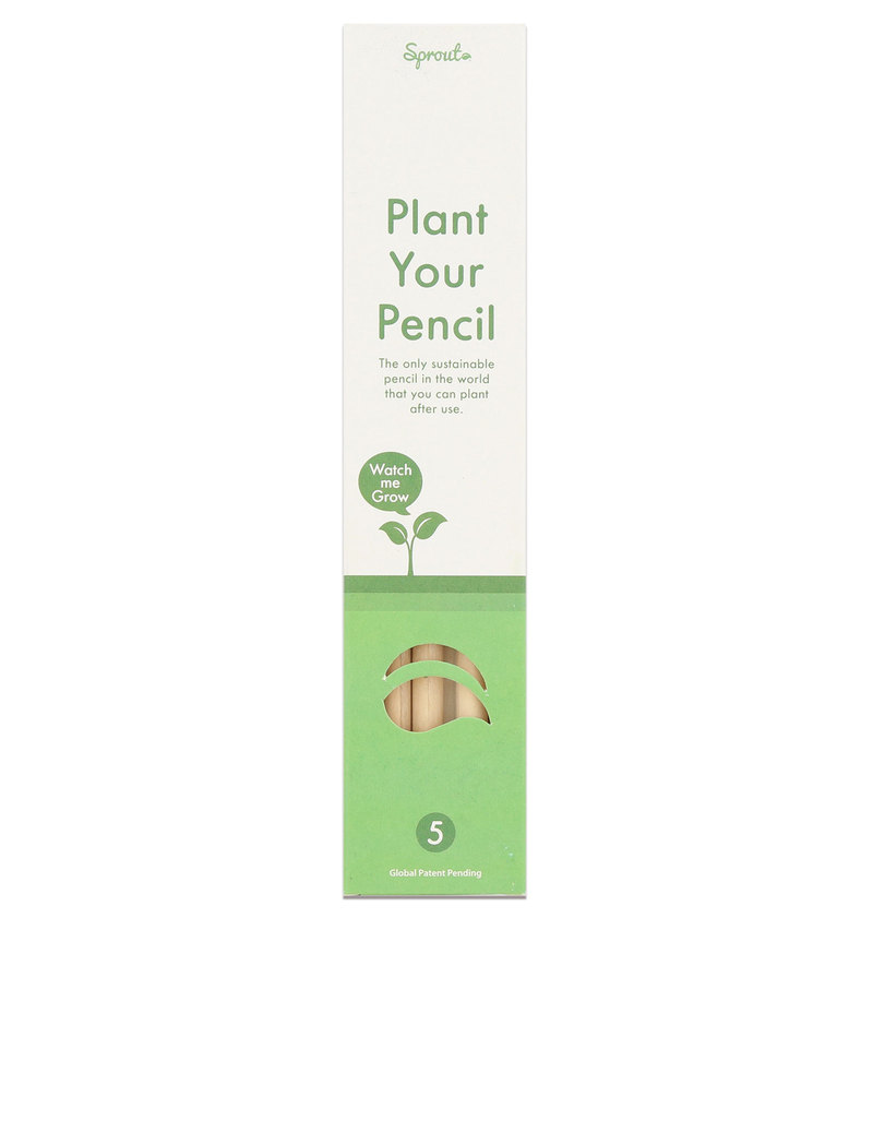 Sprout Plantable Granite Pencils [5 Pack]