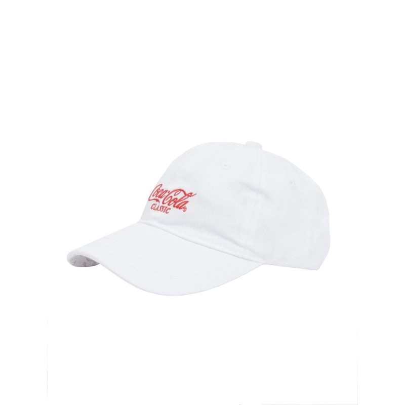 Staple Coca Cola Classic Men's Cap White