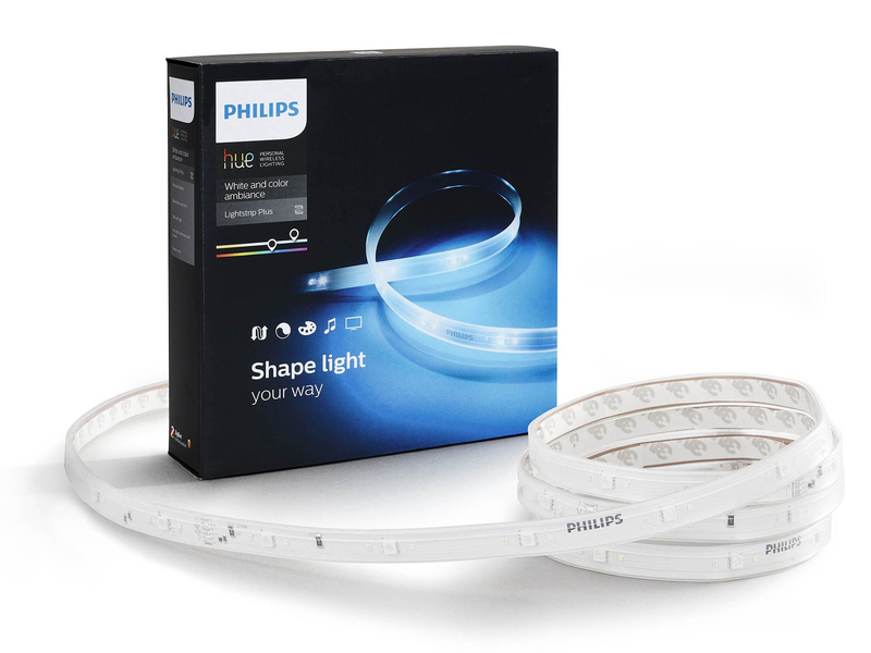 Philips hue lightstrip plus 2m led starter kit lighting - Philips hue starter kit ...