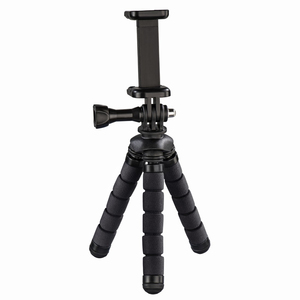 Hama Flex 14 cm Black Mini-Tripod for Smartphone and Gopro