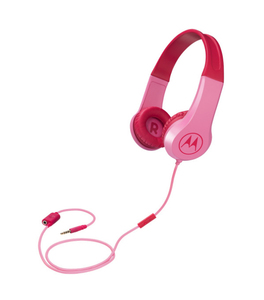 Motorola Squads 200 Pink On-Ear Headphones
