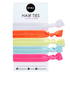Hey Holla No Kink Hair Ties Super Sorbet