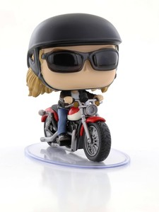 Funko Pop Rides Captain Marvel Carol Danvers On Motorcycle