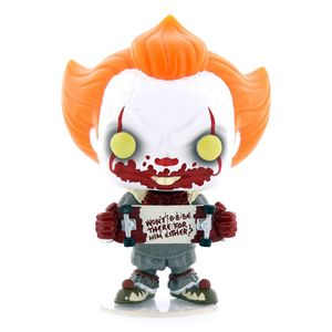 Funko Pop Movies It Chapter 2 Pennywise with Skateboard Vinyl Figure