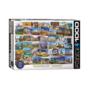 Eurographics Globetrotter Germany 1000 Pcs Jigsaw Puzzle