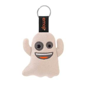Emoji Boo Official White Keychain
