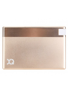XQisit Ultra Slim Lightning 1350Mah Gold Power Bank
