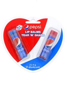 Pepsi Tear 'n' Share Lip Balm [Pack of 2]