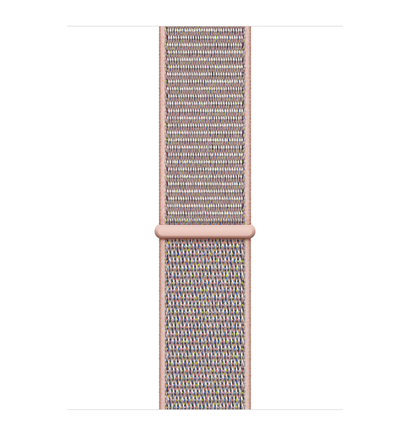 the best attitude 0b398 453d6 Apple Watch Series 4 GPS 40mm Gold Aluminium Case with Pink Sand Sport Loop