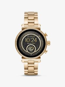 Michael Kors MKT5062 Gold/White Smart Watch 41mm [Gen 4]
