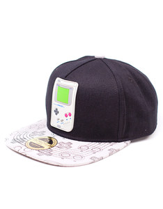 Bioworld Nintendo Gameboy Rubber Patch Snapback Cap