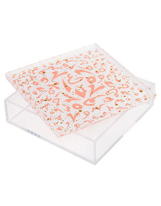 Silsal Design Accents Accessory Box Coral