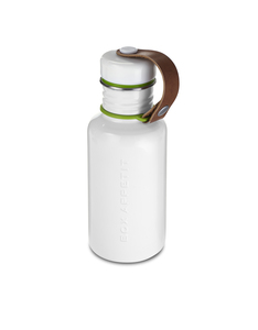 Black & Blum Water Bottle White Small 17Oz