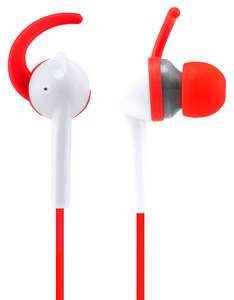Wicked Audio Fang Cherry/White Sport Earbuds
