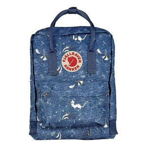Fjallraven Kanken Art Mini Backpack Blue Fable